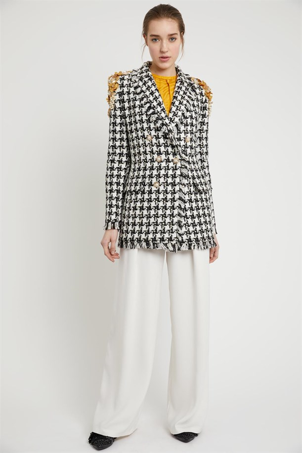 Crowbar Patterned Jacket