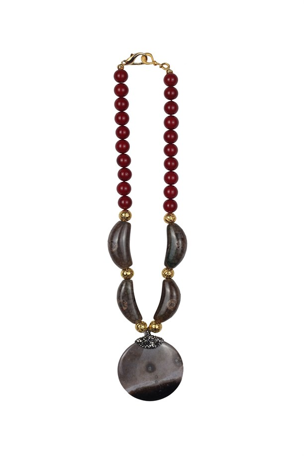 Red Majorca Necklace